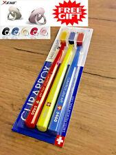 Curaprox CS 5460 Ultra Soft Toothbrush 3 x= Pack, Set - 1.Class Shipp.-Free Gift