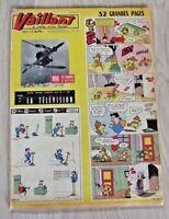 VAILLANT N°818 15/01/1961  Placid Muzo et Pif : vive les vacances d'Hiver