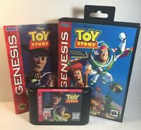Toy Story Sega Genesis 1995 Complete Game, Manual & Box