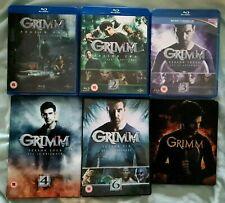 Grimm series 1-6 Blu-ray & DVD : series 5 Blu-ray steelbook + series 4 & 6 DVD's