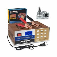 ADPOW Automotive Smart Battery Charger 12V 24V 12A Automatic Car Battery Main...