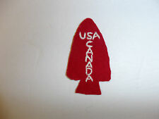 B5706 WW2 1st First Special Service Force Patch with F.S.S.F. Canada USA R4B