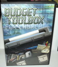 BUDGET TOOLBOX FOR CHURCHES EDUCATION MINISTRY ~CHRISTIAN CHURCH DVD  ~US SELLER