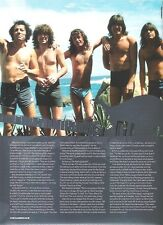 AC/DC 'the Beach Boys'  magazine PHOTO/Poster/clipping 11x8 inches