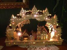 3D Schwibbogen Lichterbogen Fensterbogen Erzgebirgische Tradition 84081 SCH