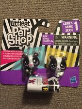 Littlest Pet Shop Special Collection Series 1 Black & White BFFs Mini Pandas