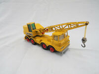 Vintage 1969 Lesney Matchbox King Size Mobile Crane K-12