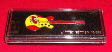 """Atlanta Olympics Guitar Pin SPAIN 1996 Ltd Ed 3"""" in Box Brooch"""