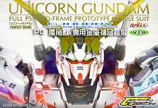 CJHOBBY Metal Details Part Set PG 1/60 RX-0 Unicorn Gundam Kit - BLUE