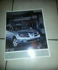 2003 Mitsubishi Outlander ,  Original Sales Brochure
