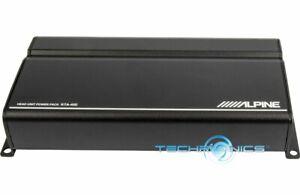 ALPINE KTA-450 POWER PACK CLASS D 4 CHANNEL AMPLIFIER DYNAMIC PEAK POWER (DPP)