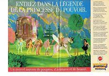 Publicité Advertising 037  1985  Jouets Mattel  poupée Princesse du pouvoir (2p