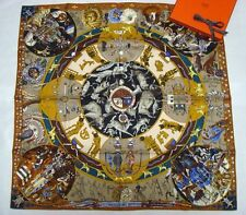 "New Authentic Hermes silk scarf ""MYTHOLOGIES DES HOMMES"""