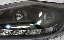 Set Faros Ford Fiesta MK7 JA8 08-13 LED Luz De Circulación Diurna TFL NEGRO +