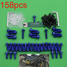 Blue Fairing Bolts Kit Fastener Clips Screws For Yamaha YZF R6 1999-2001 2002