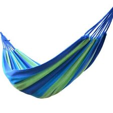 Outdoor Camping Travel Hammock Hanging Bed Garden Canvas Hang Sleeping Swing