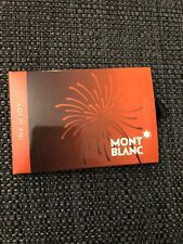 Montblanc limited edition Ink Of Joy Cartridges. New.