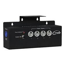 Transcension Powercon IEC Splitter Lighting Breakout Box