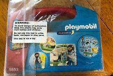 Playmobil City Life Vet Visit Carry Case Building Set 5653