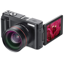 24MP 16X Zoom Focus 1080P HD 3.0 Inch  Screen Digital SLR Camera with Macro Lens