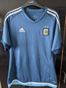 Argentina Football Shirt Adidas Large Away AFA 2015- 2016