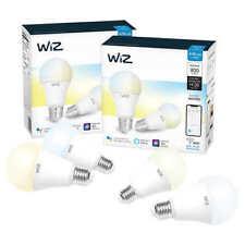 WiZ WiFi Smart Bulb A-19 White, 4-pack ** FREE SHIPPING **