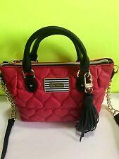 NWT Betsey Johnson Pinch Red Satchel Crossbody Bag BM19265