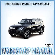 MITSUBISHI PAJERO NP 2002-2006 WORKSHOP REPAIR SERVICE MANUAL IN DISC