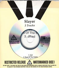 SLAYER Christ Illusion Sampler US watermarked & numbered 3-track promo only CD