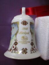 Weihnachtsglocke 1991 -Hutschenreuther- mit OVP