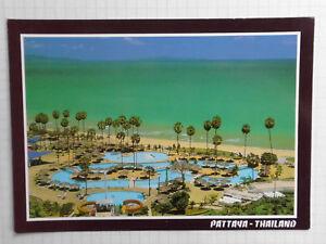 AK Pattaya Thailand Ansichtskarte 80er ? gelaufen mit Briefmarke
