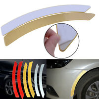 2x Car Wheel Eyebrow Reflective Stickers Safety Warning Tape  Self-adhesive Gold