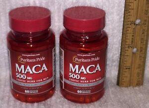2 - Maca Root Extract (Puritan's Pride)  120 capsules, 500 mg each