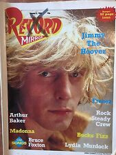 Record Mirror Oct 8th 1983 Jimmy The Hoover Freeez Joboxers Foxton Madonna
