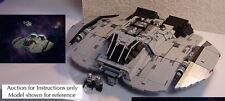 New listing Custom Battlestar Galactica Classic Cylon Raider (Lego Instructions Only! )