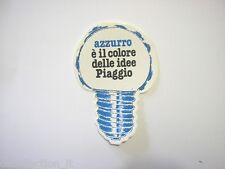 ADESIVO MOTO anni'80 / Old Sticker Vintage PIAGGIO vespa (cm 8 x 12) lampadina
