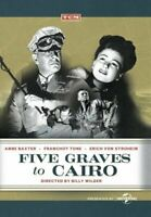 Five Graves to Cairo DVD NEW