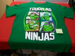 BRAND NEW W/O TAGS NICKELODEON COLLECTIBLE TMNT TEENAGE MUTANT NINJA TURTLES TEE