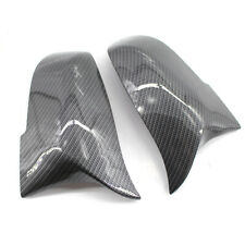 LH&RH M3 Style Mirror Covers Carbon Fiber Fit for BMW F30 F32 13-17 2/4 Door