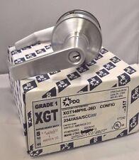 "PDQ LOCKSET XGT-148 26D PHL GDE 1 CLASSROOM 2 3/4"" BACKSET ASA STRIKE SCHLAGE"