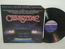 CHRISTINE MOTION PICTURE SOUNDTRACK LP Motown 6086ML (1983) Stephen King