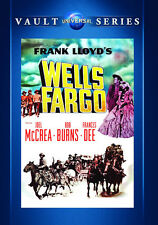 Wells Fargo 1937 (Dvd) Joel McCrea, Bob Burns, Frances Dee, Lloyd Nolan - New!