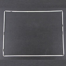 White Digitizer LCD Screen Bezel Plastic Middle Frame + Adhesive For iPad 2 3 4