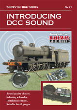 Peco SYH 25 The Railway Modeller Book Introducing DCC Sound 8 Page Booklet