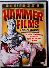 Icons of Horror Collection - Hammer Films - Region 1 DVD - 4 Films on 2 Discs