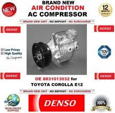 Denso Aire acondicionado CA Compresor OE 8831013032 para TOYOTA COROLLA E12