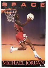 Costacos Michael Jordan Space the Final Frontier Factory Sealed Poster STAR TREK