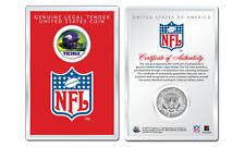 MINNESOTA VIKINGS NFL Helmet JFK Half Dollar Coin w/ NFL Display Case LICENSED