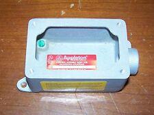 Appleton EFD175A-NL-Q Aluminum Body Enclosure with ESKB-2PB-Q Cover Assembly