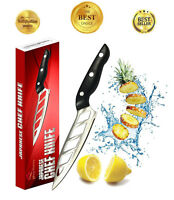 Premium Kitchen Chef Knife Japanese 6 Inch Stainless Steel Ultra Sharp
